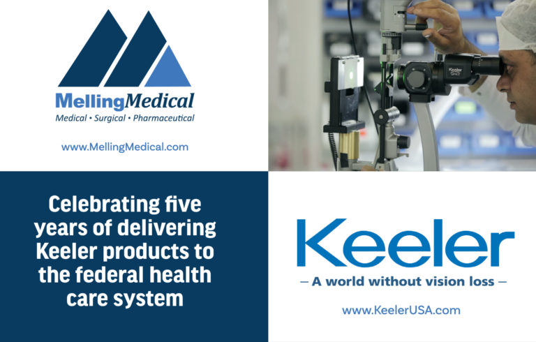 Melling Medical Relationship with Keeler Passes Five Year Mark